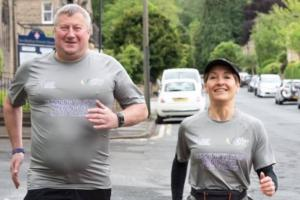 Stuart Hyde trains for the half marathon