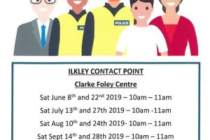 Dates and times of PCSO Contact Point
